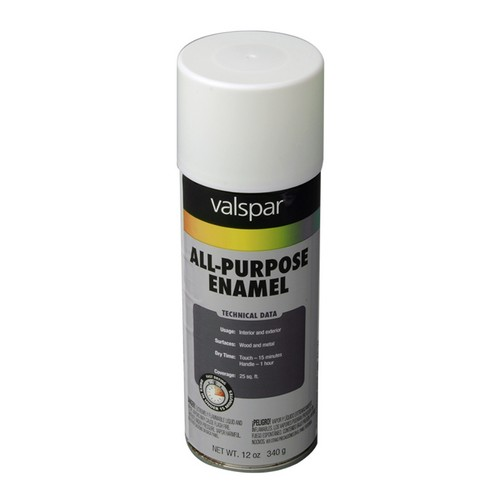 T799-003 General Purpose Spray Paint  Gloss White 6-Pack