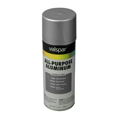 T799-011 General Purpose Spray Paint  Aluminum (Silver) 6-Pack