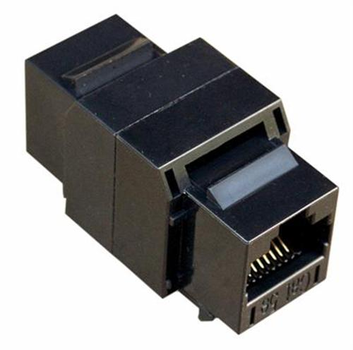 88240 Cat5E UTP Coupler Black