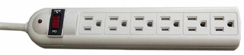 89022 6 Outlet Power Strip