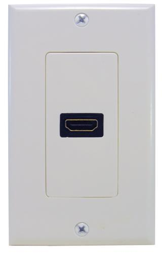 80442 HDMI Home Enterainment WallPlate