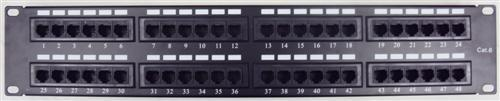 88446 Cat6 High Density Patch Panels 48 Port