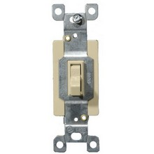 82025 Commercial 3 Way Toggle Switch Ivory 20A-120/277V