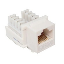 88421 Cat6 (RJ45) Unshielded Keystone Jacks White